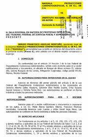Ricardo Arnaiz Mintió Al INDAUTOR Y Al TFJFA