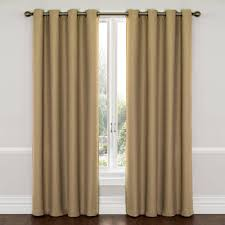 Walmart Grommet Blackout Curtains by Eclipse Wyndham Grommet Energy Efficient Blackout Curtain Panel