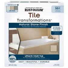 rust oleum transformations 1 kit tile transformations natural