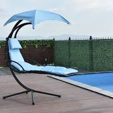 Arched Hanging Chaise Lounge Chair W/ Canopy - Blue 61 Stunning Images For Patio Lounge Chair With Canopy Folding Beach With Chairs Quik Shade Royal Blue Sun Shade150254 Bestchoiceproducts Best Choice Products Oversized Zero Gravity Haing Chaise By Sunshade Cup New 2 Pcs Canopy Inspirational Interior Style Fniture Lawn Target For Your Recling Neck Pillow