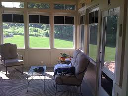 Vinyl Patio Curtains Outdoor by Converting Back Porch To Florida Room Screen Porch Is Quickly