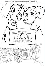 Des Coloriages Gratuits Disney 101 Dalmatiens à Imprimer Et à