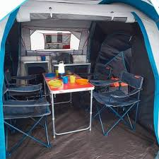tente 4 places 2 chambres seconds family 4 2 xl quechua tente de cing familiale air seconds family 4 2 xl fresh black