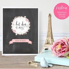 Wedding Binder Cover Printable Instant Download Best Day
