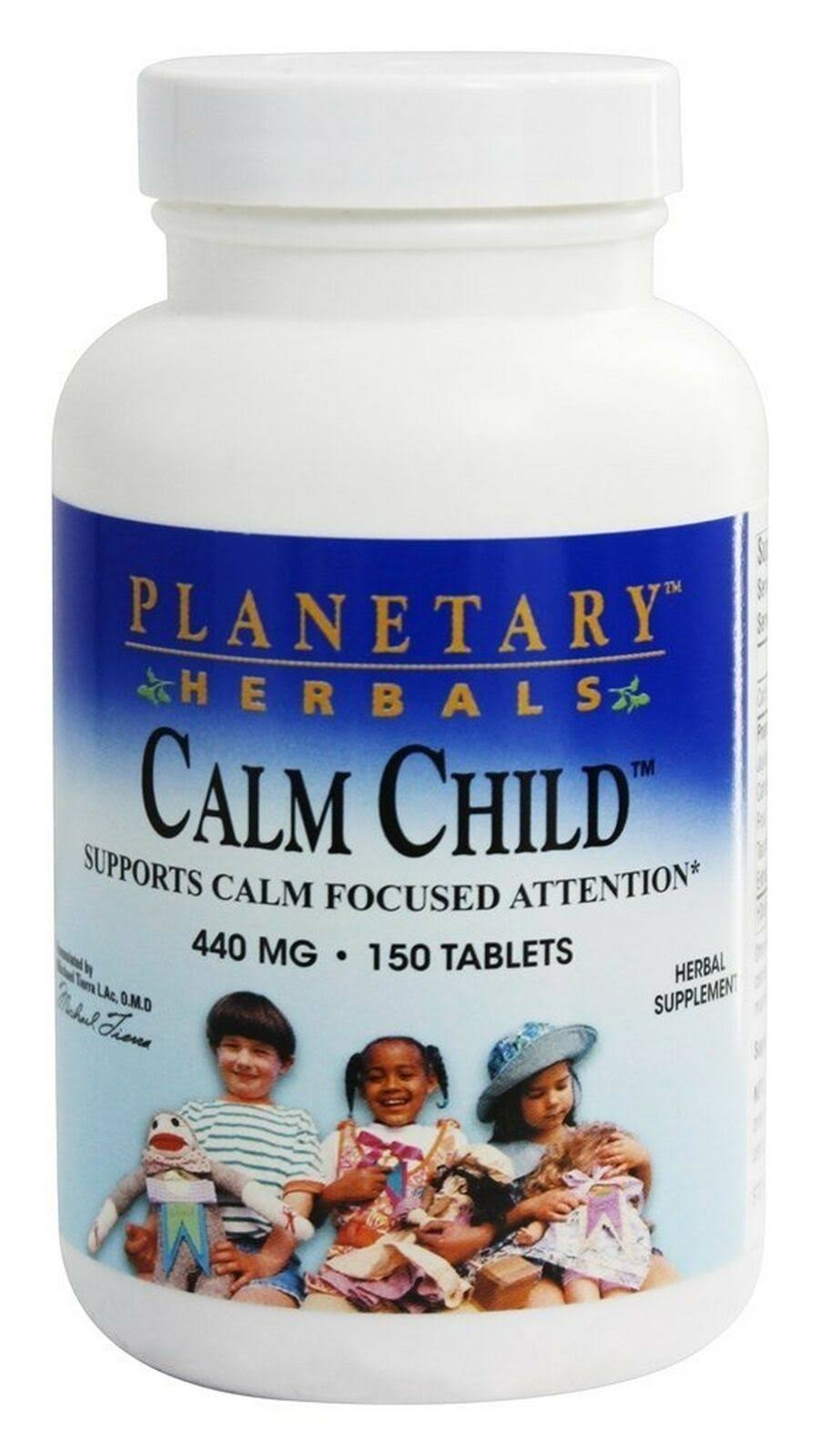 Planetary Herbals Calm Child Dietary Supplement - 440mg, 150 Tablets