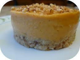 cuisiner des marrons frais cheesecake epicé à la courge de crème de marrons et carrés