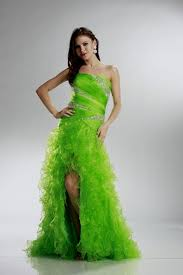 awesome neon green prom dress gallery unique wedding hairstyles