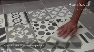 cement tiles installation