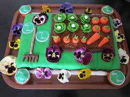 gâteau potager carrot cake et pâte d amande pour la déco