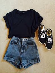 T Shirt Shoes Shorts Pants Denim High Waisted Cute Tank Top Vintage