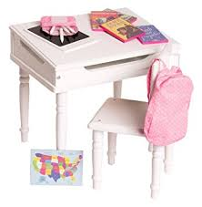 Amazon 18 Inch Doll Furniture Desk and Chair Set Classroom