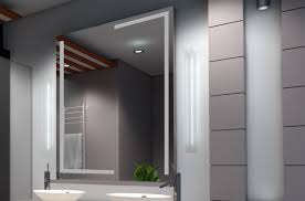 design spiegel streifen in l form