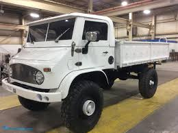1968 Mercedes Benz Unimog Pickup Hits The Auction Block! | Repocast ... Used Mercedesbenz Unimogu1400 Utility Tool Carriers Year 1998 Tree Surgery Atkinson Vos Moscow Sep 5 2017 View On New Service Truck Unimog Whatley Cos Proves That Three Into One Does Buy This Exluftwaffe 1975 Stock Photos Images Alamy New Mercedes Ready To Run Over Everything Motor Trend Unimogu1750 Work Trucks Municipal 1991 Camper West County Explorers Club U3000 U4000 U5000 Special Vehicles Extreme Off Road Compilation Youtube