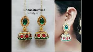 How To Make Designer Bridal Silk Thread Earrings/Jhumkas At Home ... How To Make Pearl Bridal Necklace With Silk Thread Jhumkas Quiled Paper Jhumka Indian Earrings Diy 36 Fun Jewelry Ideas Projects For Teens To Make Pearls Designer Jewellery Simple Yet Elegant Saree Kuchu Design At Home How Designer Earrings Home Simple And Double Coloured 3 Step Jhumkas In A Very Easy Silk Earring Bridal Art Creativity 128 Jhumka Multi Coloured Pom Poms Earring Making Jewellery Owl Holder Diy Frame With