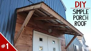 How To Build A Clean 'n Simple Porch Roof - Part 1 Of 2 - YouTube Roof Pergola Covers Patio Designs How To Build A 100 Awning Over Deck Outdoor Magnificent Overhead Ideas Wood Cover Awesome Marvelous Metal Carports For Sale Attached Amazing Add On Building Porch Best 25 Shade Ideas On Pinterest Sun Fabric Fancy For Your Exterior Design Comfy Plans And To A Diy Buildaroofoveradeck Decks Roof Decking Cosy Pendant In Decorating Blossom