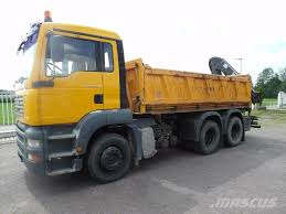 MAN TGA26.360, Germany, $54,387, 2004- Dump Trucks For Sale - Mascus ...