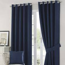 Navy And White Striped Curtains Uk by Blackout Curtains Blackout Curtain Lining Dunelm