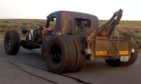 100 Rat Rod Tow Truck City