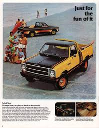 Chrysler 1980 Pickup Dodge Dodge Truck Sales Brochure