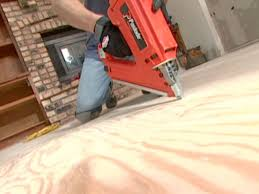 Knee Pads For Hardwood Floor Installers by How To Install A Heated Hardwood Floor How Tos Diy