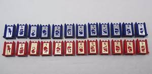 Image Is Loading 1986 Stratego Board Game Pieces Select The Piece