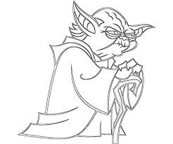 Lovely Yoda Coloring Pages 51 About Remodel Free Book With