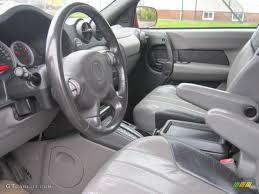 Dark Gray Interior 2001 Pontiac Aztek Standard Aztek Model