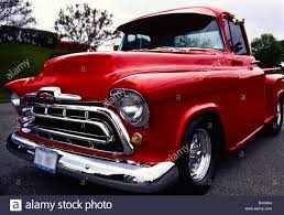 1956 Custom Chevrolet Step-Side Pick Up Truck Stock Photo: 54664348 ...