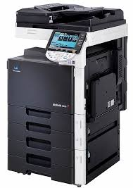 Konica Minolta Bizhub C203 Color Copier Printer Scanner