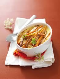 cuisiner panais recette gratin de carottes et panais au cumin cuisine madame