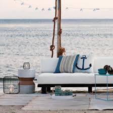terrassengestaltung im strandstil coole ideen strand