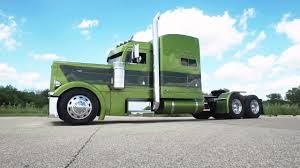 Custom Peterbilt By DB Kustom Trucks - YouTube