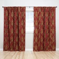 European Cafe Window Art Curtains by Floral Curtains U0026 Drapes For Less Overstock Com