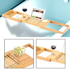 Bath Caddy With Reading Rack Uk by Interior Bathtub Tray Lawratchet Com