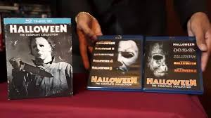 Halloween 6 Producers Cut Dvd by Halloween The Complete Collection 10 Disc Set Unboxing Youtube
