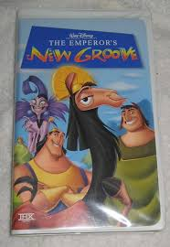 The Emperors New Groove VHS Movie Animated Walt Disney Clamshell