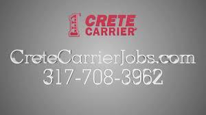 100 Indiana Trucking Jobs Truck Driving 3177083962 Crete Carrier