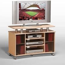 fernsehschrank tv videowagen ahorn hell alu optik 100 cm