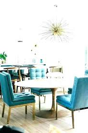 Turquoise Dining Room Chairs Living Set Rooms Stylish