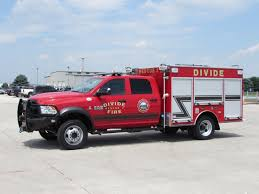 100 Fire Rescue Trucks Divide Colorado USA Divide Protection District Divide