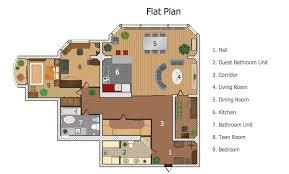 Building Floor Plan Colors A Floor Plan