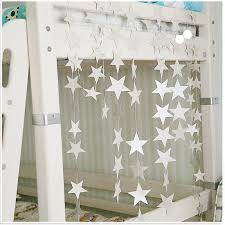 Wall Hangings Props Decoration Creative Star Card Paper Wedding Party Garland Handmade Children Room 415cm