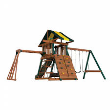 Backyard Play Systems Wood Castle Rock Swing Set   Shop Your Way ... Shop Backyard Play Systems Commanders Tower Playset Diy At Lowescom Outdoor Goods Wood Castle Rock Swing Set Your Way Amazoncom Gorilla Playsets Sun Palace Ii With Monkey Bars Home Design Diy Fire Pit Ideas 7 Tips For Mtaing A Redwood All About The House Lighting Photo Pirate Ship Fniture Interesting Cedar Summit For Playground