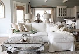 The Woods and Whites Home Tour Farmhouse Living Room Cotton Stem