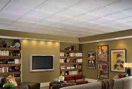 Exposed Basement Ceiling Lighting Ideas by Basement Ceiling Ideas Armstrong Ceilings Residential