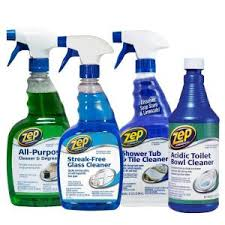 zep bath cleaning kit 4 pack zubrkit the home depot
