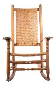 100 Woven Cane Rocking Chairs 20th Century Boho Chic JfK Style Chair Chairish
