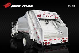 100 Truck Loader 10 PacMac RL Series Rear Garbage Mid Atlantic Waste