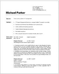 Information Technology Resume Template Resume Sample For Throughout