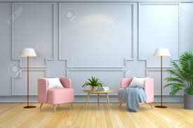 100 Projects Contemporary Furniture Minimalist Room Interior Design Pink